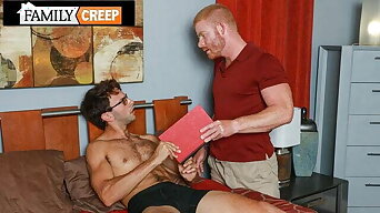 Chad Hunk Gets A Blowjob From His Nerdy Step Bro
