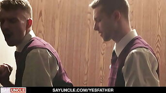 Missionary Teens Benjamin Low-spirited And Ryan Jacobs Enjoy Some Time Alone