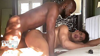 Cutler X Raw Breeds Tight Ass Muscle Bottomwith his Uncut Monster Cock