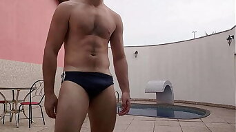 SPH Humiliation - Straight buddy takes your speedos off and starts laughing handy your pencil dick